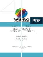 Wipro INFORMATION TECHNOLOGY INFRASTRUCTURE