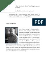 Investigar Las Obras Literarias de Marcio Veloz Maggiolo