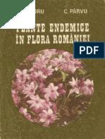 Plante Endemice În Flora Românei
