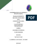 Cinemática de Los Fluidos (Informe)