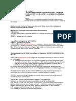 Decreto de Urgencia Nº 011