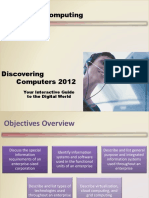 Chapter 14 - Discovering Computer Fundamentals 2012 ppt