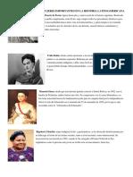 Aportes de Hombres y Mujeres Importantes en La Historia Latinoamericana