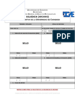 Solvencia Archivo Retiro