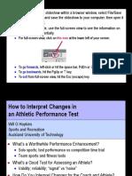 Interpreting Performance Tests