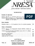 Manresa 1983 10-12. Estudios de Ejercicios.otros Estudios.