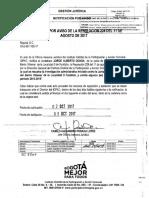 Oficio OAJ-50-1105