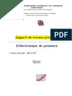 Support de Travaux Pratique E.E.P