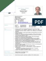 CV Prof Jaspart Jean