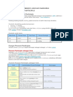 [Materi] Present and Past Participle