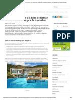 Consejos Prácticos a La Hora de Firmar Una Reserva de Compra de Inmueble _ Derecho en Zapatillas by Sergio Mohadeb