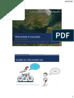 Escolas Francesa e Inglesa de Aromaterapia e a Naturoterapia