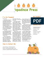 newsletter 10-06-17