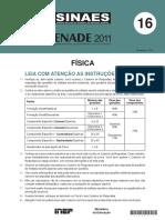 FISICA-Enade2011