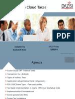 Oracle Cloud Fusion Tax 12092016 V1.0