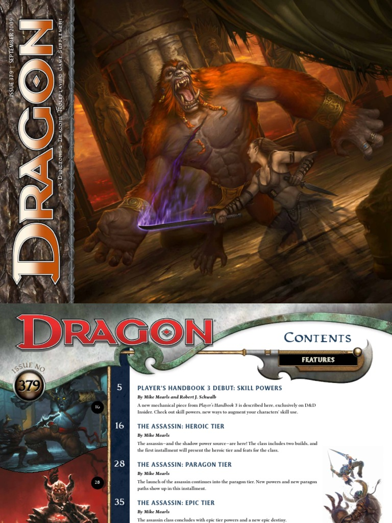 Dragon Magazine #379   Dungeons & Dragons   Wizards Of The Coast