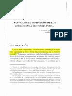 Acerca de La Motivación de Los Hechos en La Sentencia Penal I. Ibañez