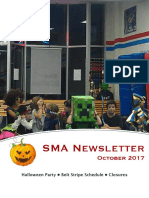 Oct '17 Newsletter