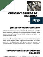 Cuentas y Grupos de Usuarios en GNU/Linux Debian