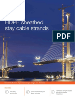 Bekaert HDPE Sheathed Stay Cable Strands