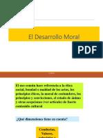 El Desarrollo Moral de Las Personas