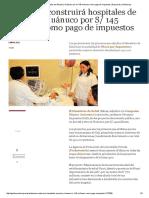 Antamina Construirá Hospitales de Áncash y Huánuco Por S_ 145 Millones Como Pago de Impuestos _ Empresas _ Gestion