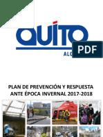 Plan Lluvias Quito2017