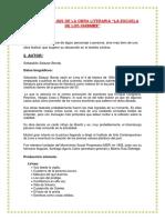 Analisis Literario de La Obra La Escuela de Los Chismes