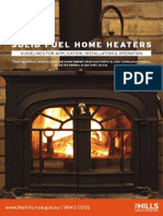 Guideline - Wood Heaters - Application Installation Operation