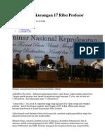 Indonesia Kekurangan 17 Ribu Profesor 10.docx