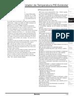 C. Controlador de Temperatura Páginas Del 29 Al 50 SPANISH (ESPAÑOL)