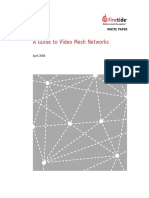 Firetide WP Guide to Video Mesh Networks