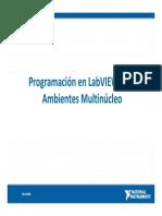 Programacion en LabVIEW Para Ambientes Multinucleo