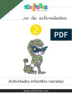 Av 02 Cuadernillo Infantil Actividades Variadas