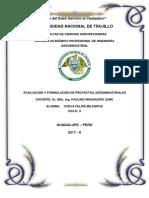 Diagnóstico de La Principales Cuencas Lecheras Del Perú