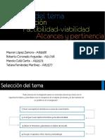 Tema 1 Selecciondeltema IISEM2013