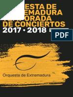 Temporada 2017 2018 Libreto