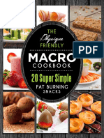 Macro Cookbook - Snacks