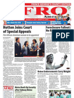 Prince George's County Afro-American Newspaper, August 21, 2010