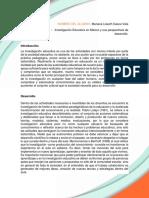 Actividad 1 Investigacion Educativa