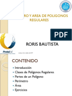 Areas de Poligonos Regulares