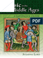 Lord, S. - Music in the Middle Ages, A Reference Guide