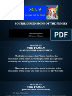 Christian Dimension of the Family