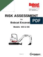 Risk Assessment - Zeroswing Excavator