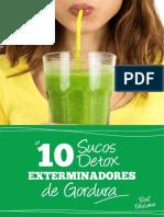 10 Sucos Exterminadores de Gordura YY
