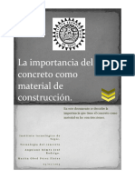 La Importancia Del Concreto Como Materia