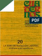cuaderno 20- artículo flexibilización laboral