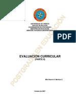 Evaluacion Curricular 2