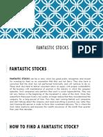 Fantastic Stocks
