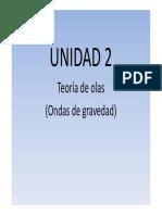 Unidad 2 Teoría de Olas 2014